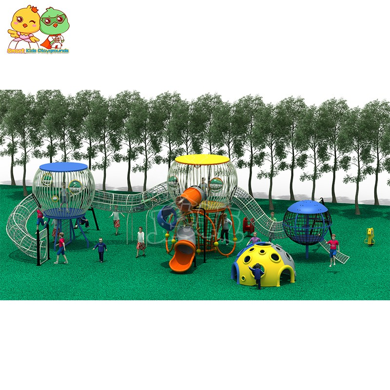 SKP stable kids slide for supermarket-10