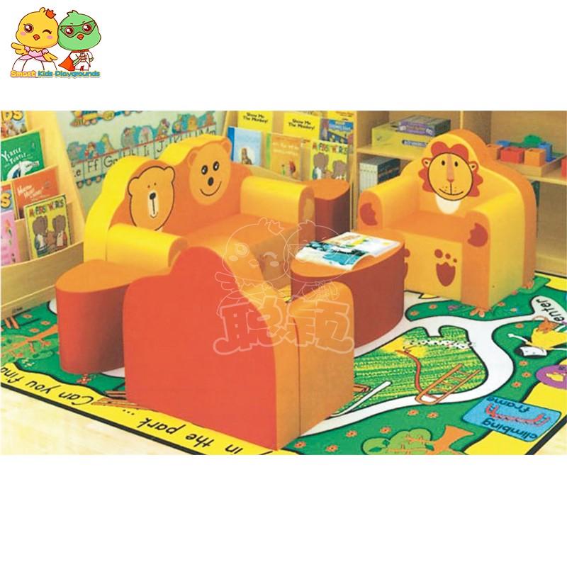 SKP security childrens school desk high quality for kindergarten-2