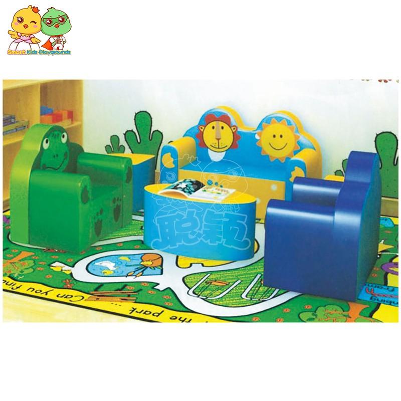 SKP security childrens school desk high quality for kindergarten-3