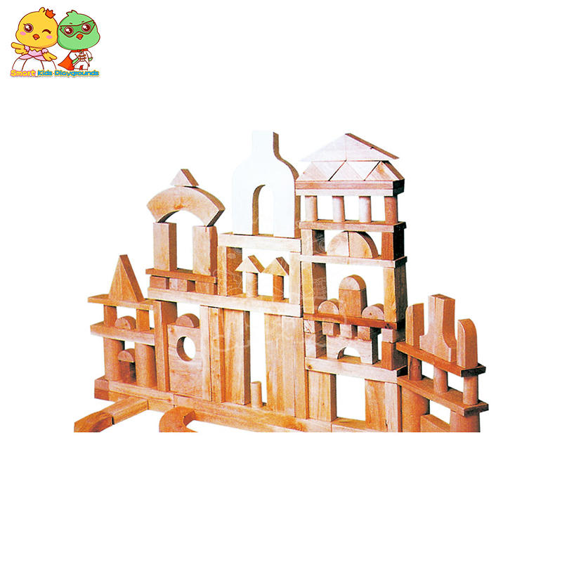 Kids Wooden Building Blocks Kids Toys Intellectual Development SKP