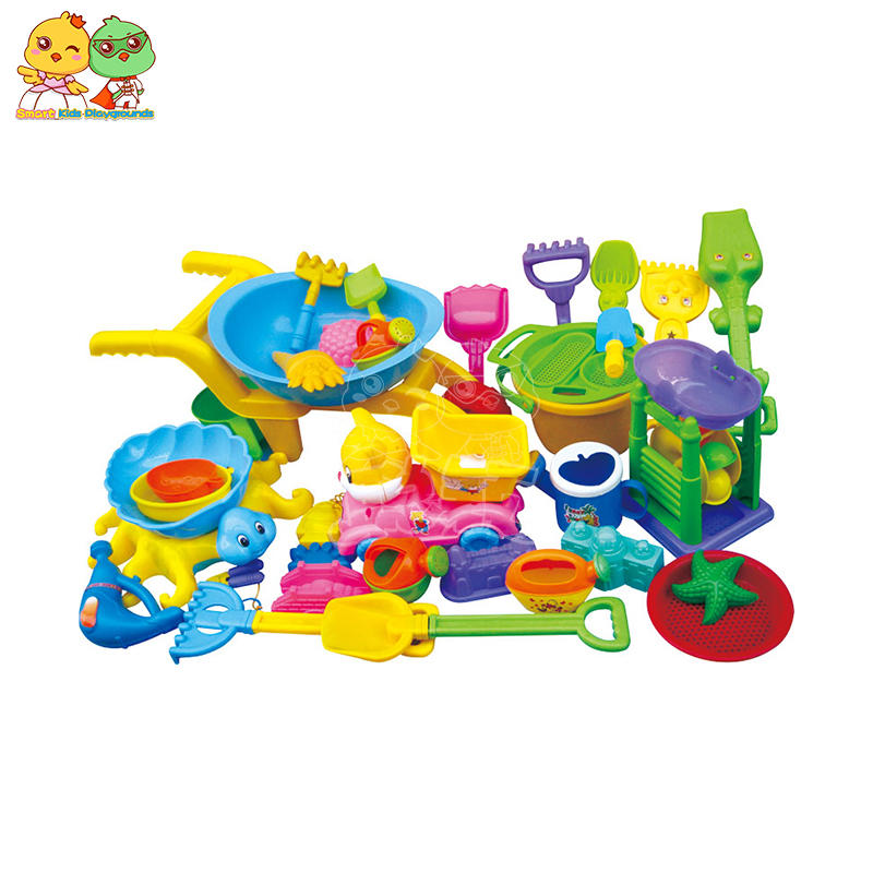 Children's beach tools plastic play sand tools multi - form SKP