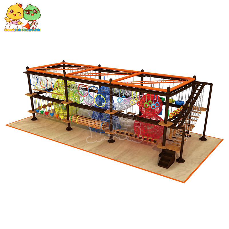 Indoor Role Play Climbing Wood Plastic Climbing Wall For Children Extension SKP