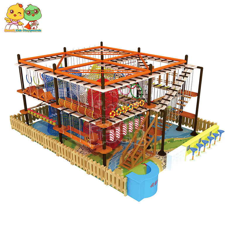 Indoor and outdoor large-scale physical expansion climbing role course play SKP