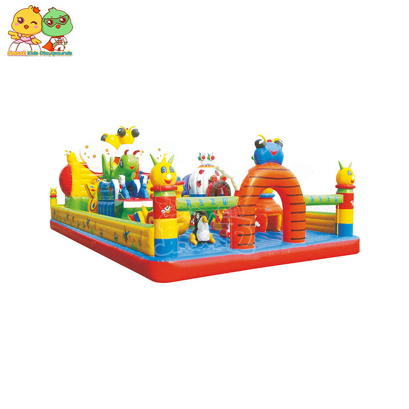 SKP playground inflatable pool toys puzzle game for play centre