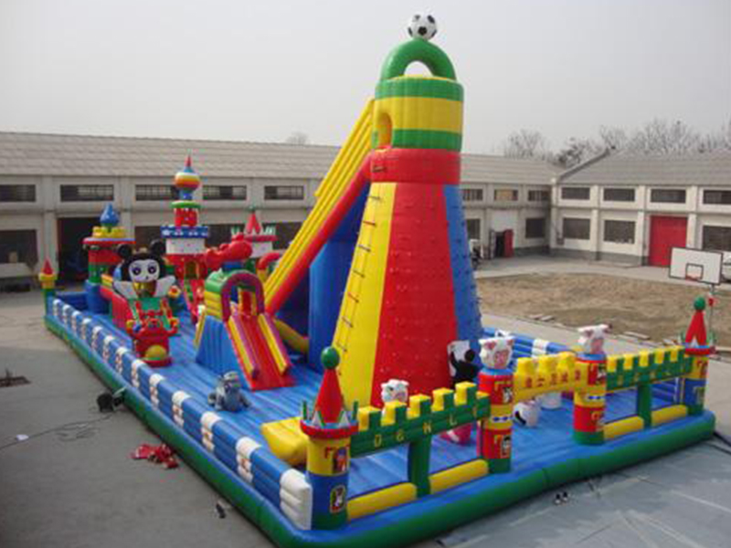 SKP castle inflatable pool toys factory price for amusement park-12