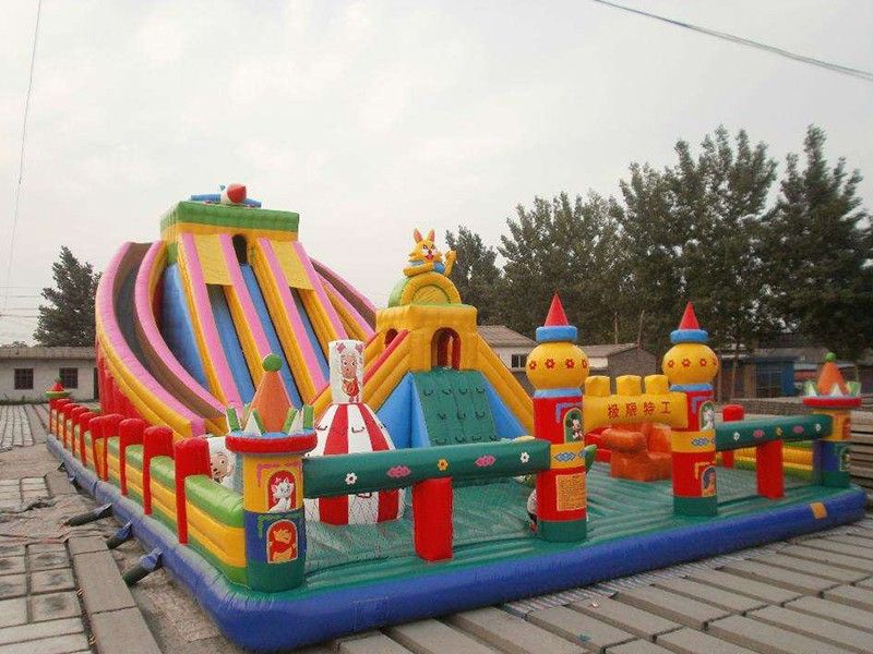 SKP castle inflatable pool toys factory price for amusement park-13