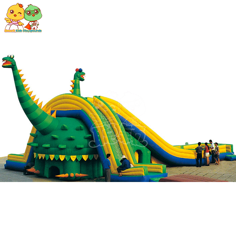 inflatable pool toys castle factory price for amusement park-1