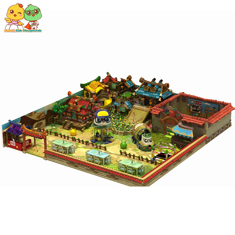 Chinese style children indoor playground mall can be customized SKP