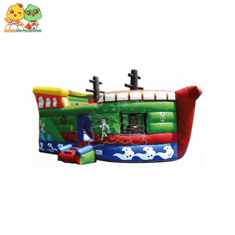 SKP castle inflatable pool toys factory price for amusement park-1