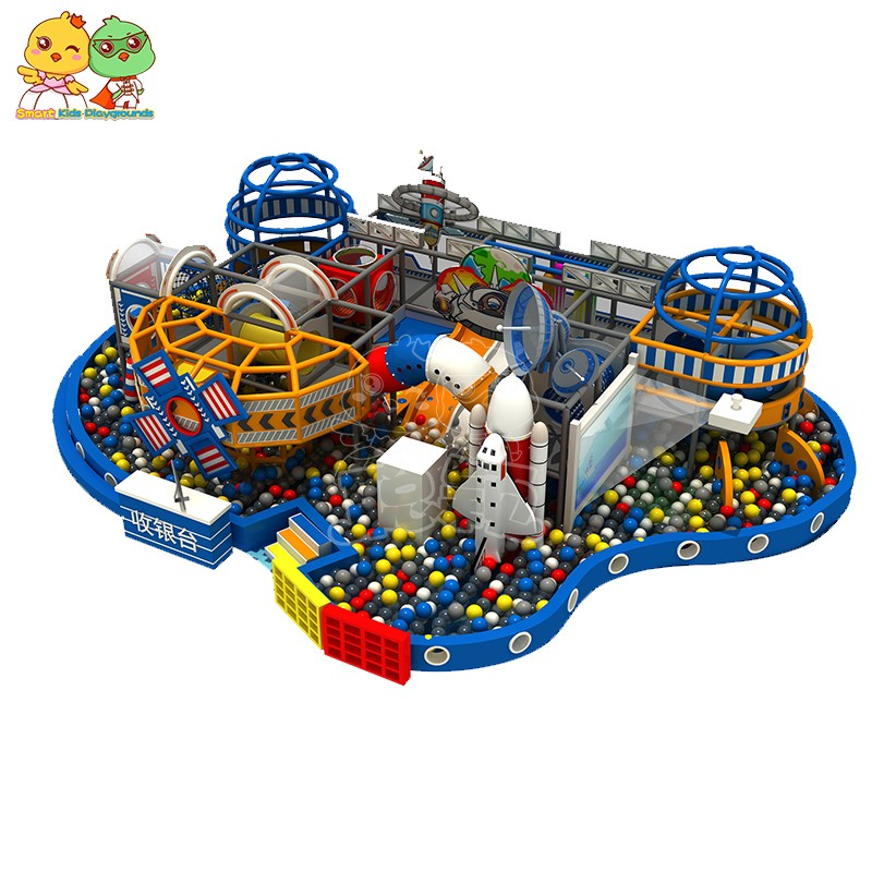 SKP amusement space theme playground factory price for plaza-1