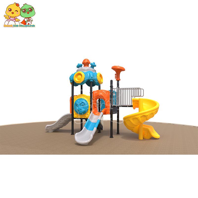 SKP children wooden slide directly sale for restaurant