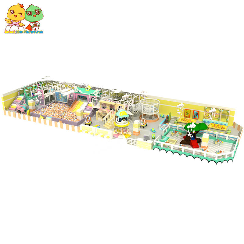Candy Theme Indoor Playground Children's Playground Paradise Mall Commercial SKP
