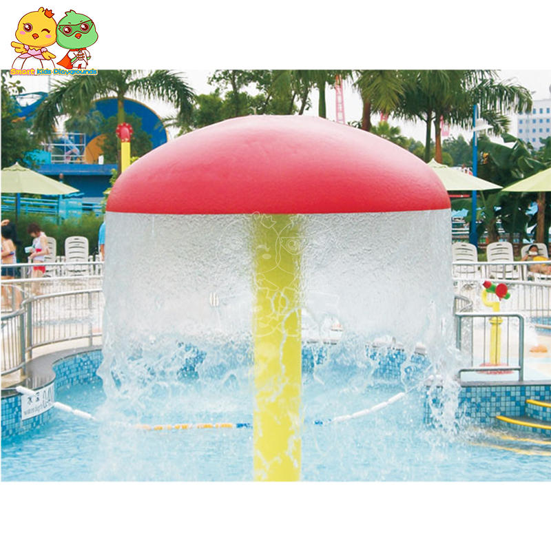 Water park spray mushroom equipment fiberglass durable SKP
