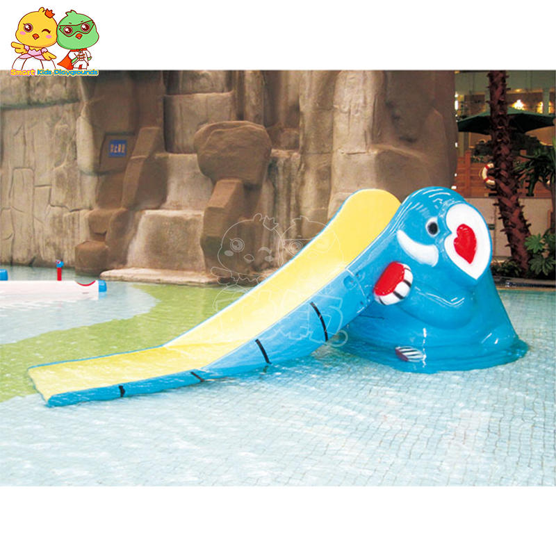 Small water slide type slide glass reinforced plastic pendant SKP