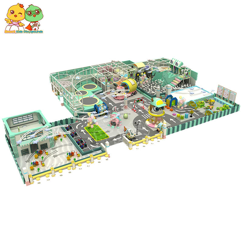 Candy theme indoor playground children's mall commercial SKP