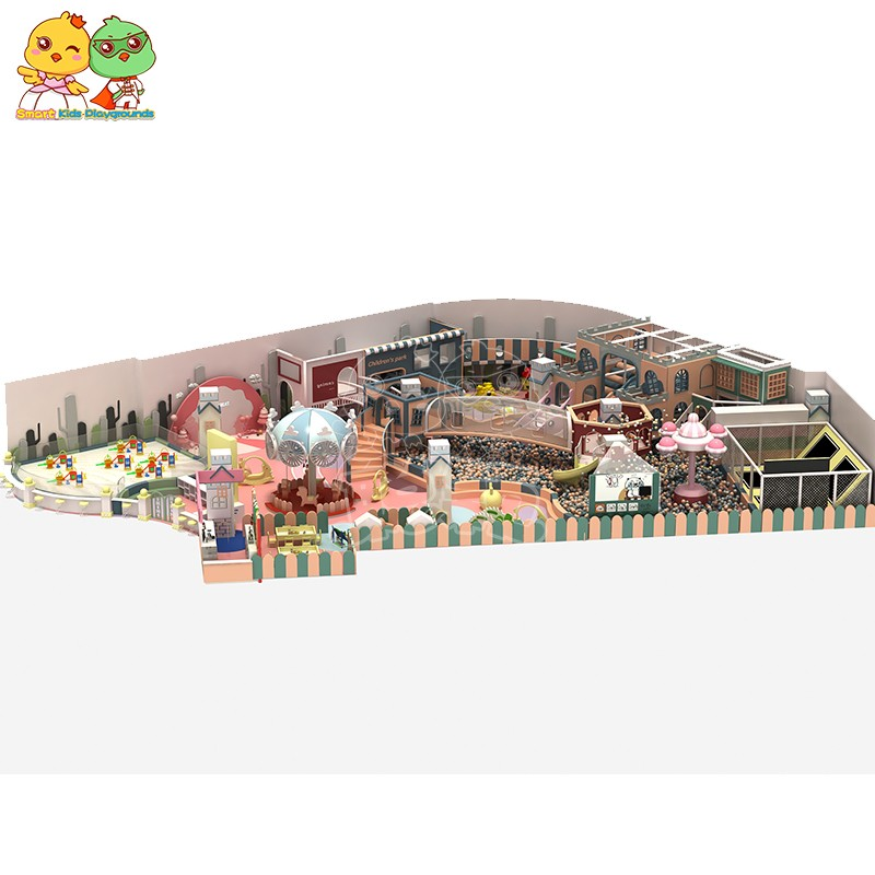SKP safe candy theme playground supplier for plaza-1