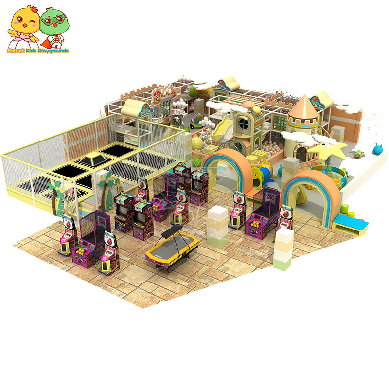 Quality Candy Indoor Playground Macaron soft play equipment