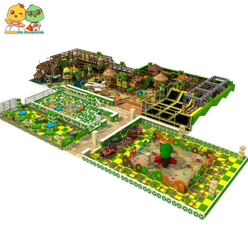 Big indoor playground soft type for children