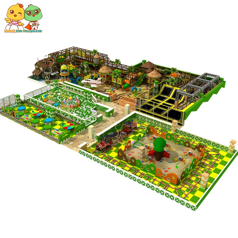 high quality jungle theme playground activities puzzle game for play centre-1