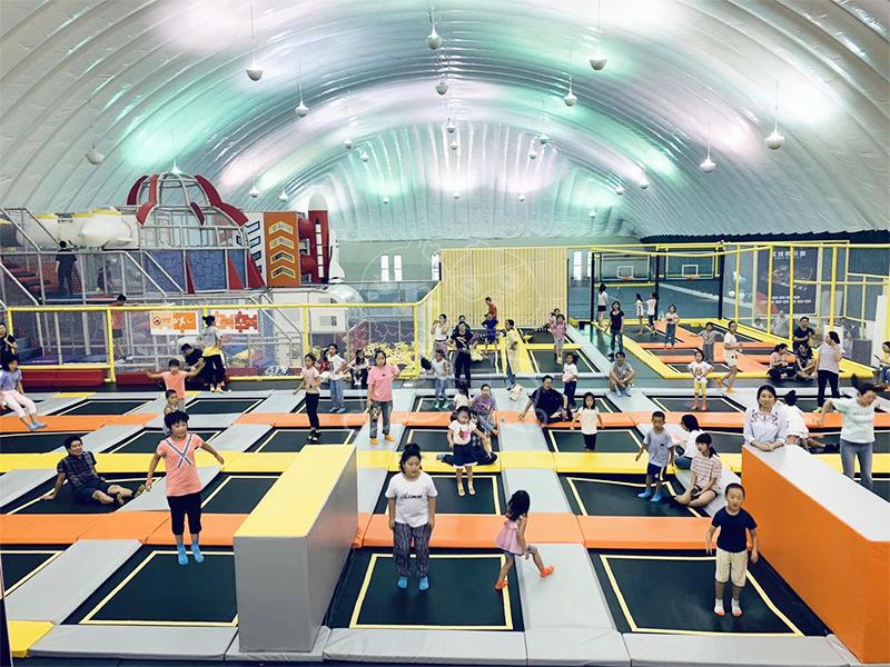 Beijing trampoline park