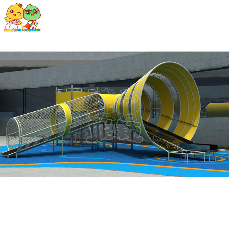 kids stainless steel slide outdoor playground equipment new design