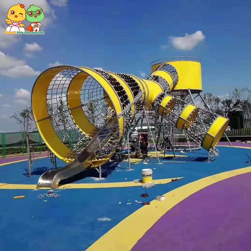 SKP durable tube slide factory for residential area-1