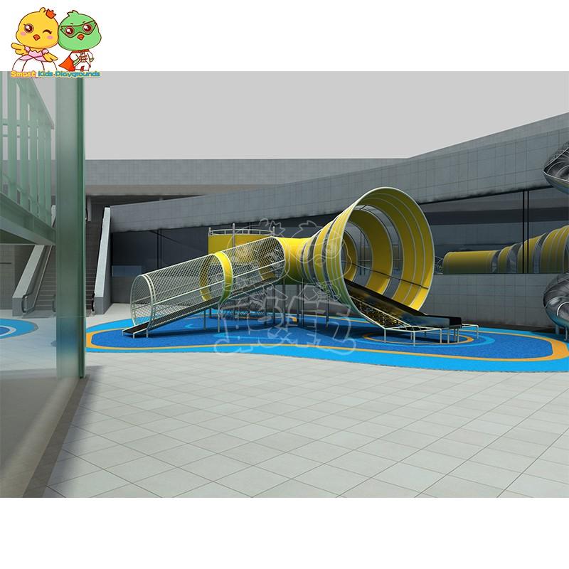 SKP durable tube slide factory for residential area-3