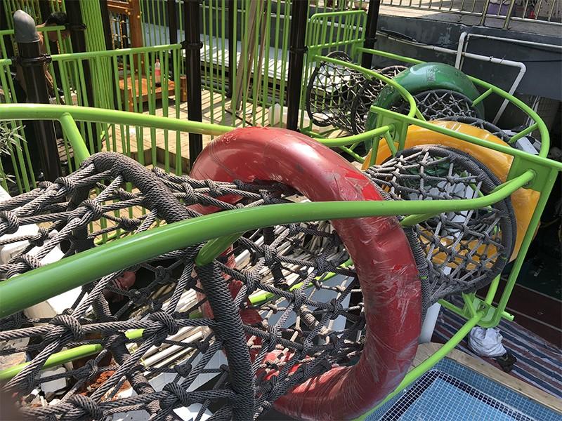 SKP durable wooden slide wholesale for restaurant-5