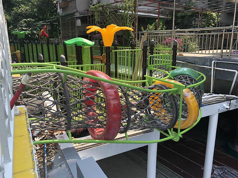 SKP durable wooden slide wholesale for restaurant