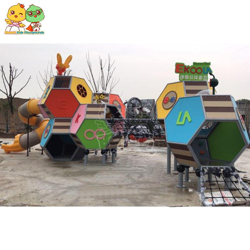 New cellular climbing slide outdoor slide equipment children