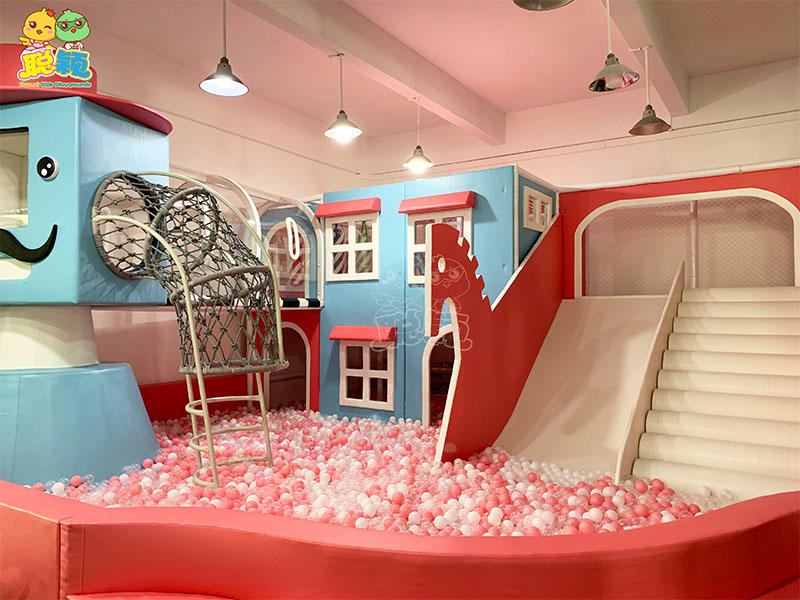 Macaron-themed indoor playground for children
