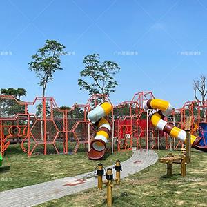 Children outdoor playground big slides for sale park kids climbing equipment