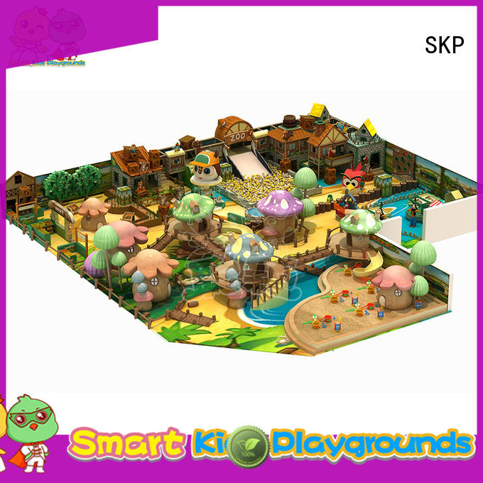 SKP Christmas theme playground supplier for play centre
