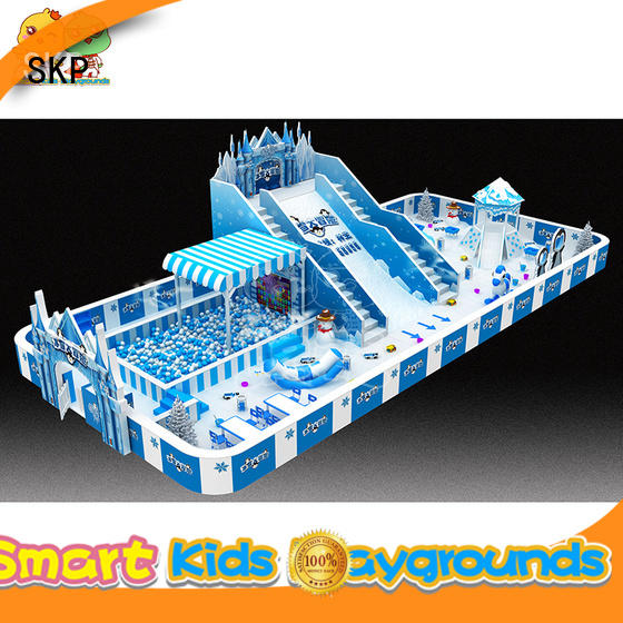 SKP commercial playground equipment promotion for Kids care center