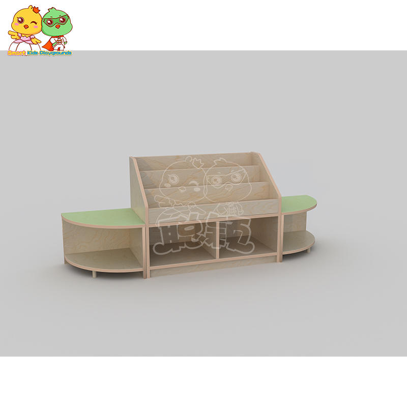 SKP durable childrens wooden table and chairs promotion for kindergarten-1