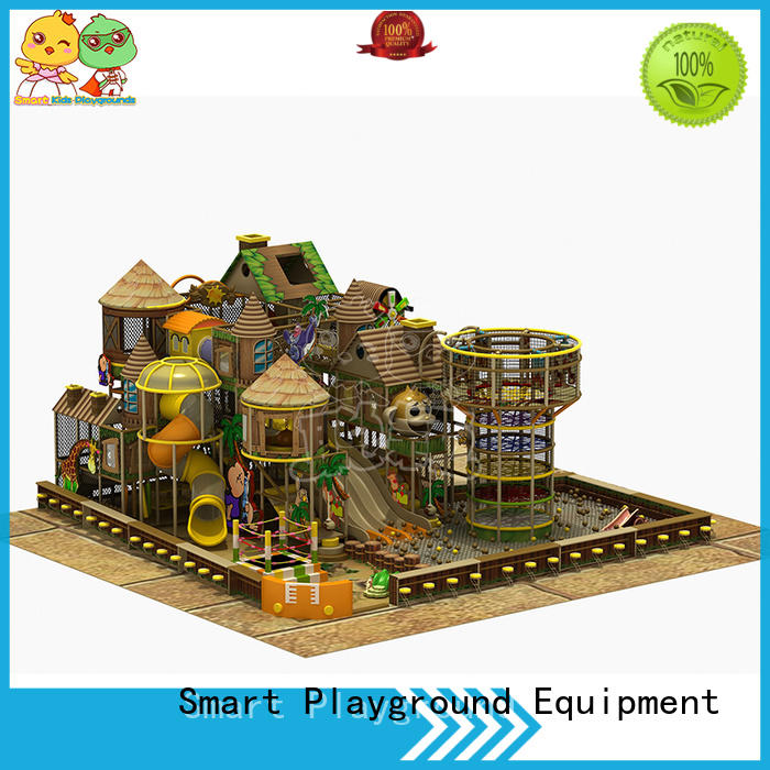 SKP park jungle theme playground puzzle game for play house