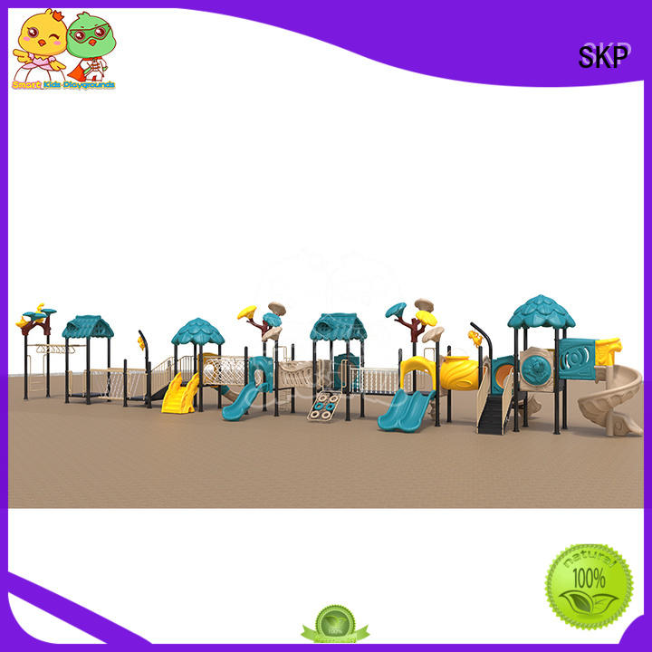 SKP stable wooden slide factory for Amusement park