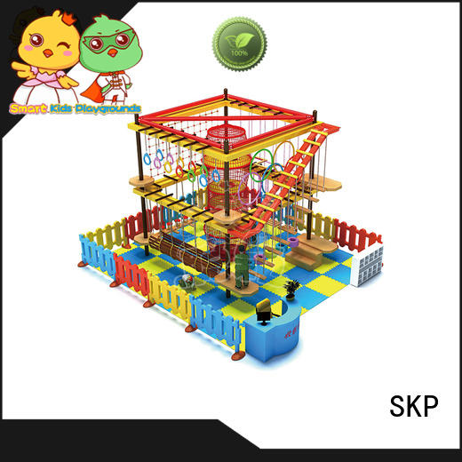 SKP play adventure equipment supplier for play centre