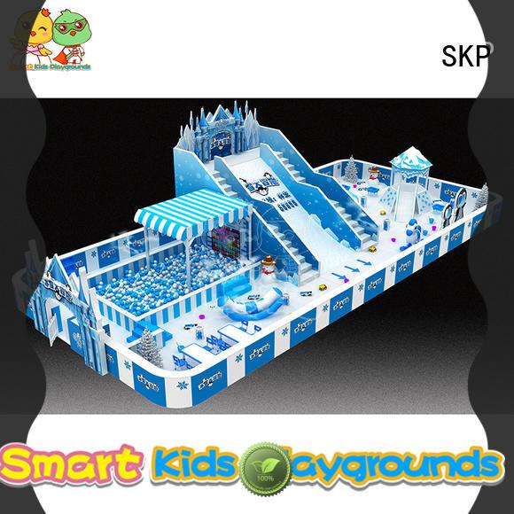 high quality snow theme playground on sale for nursery
