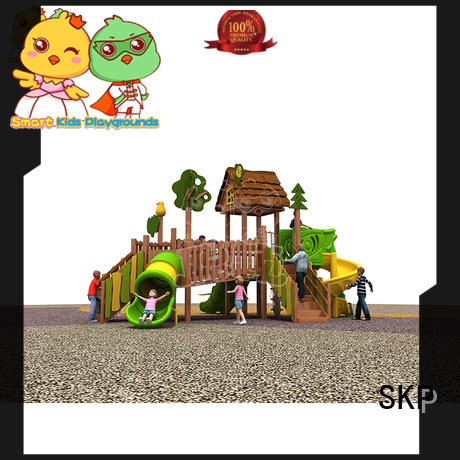 SKP park kids slide wholesale for restaurant
