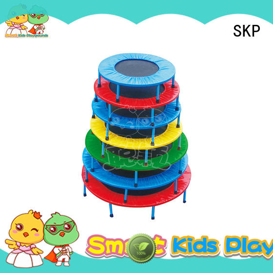 SKP Multicolor trampoline park supplier for school