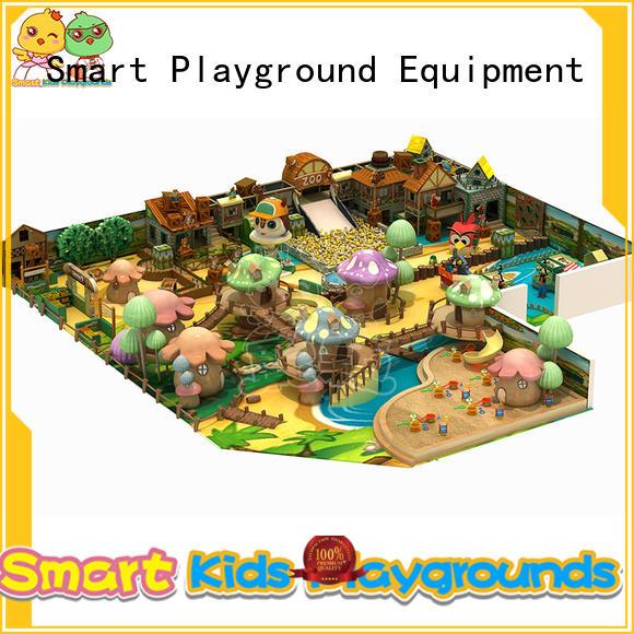 SKP wooden playground supplier for indoor