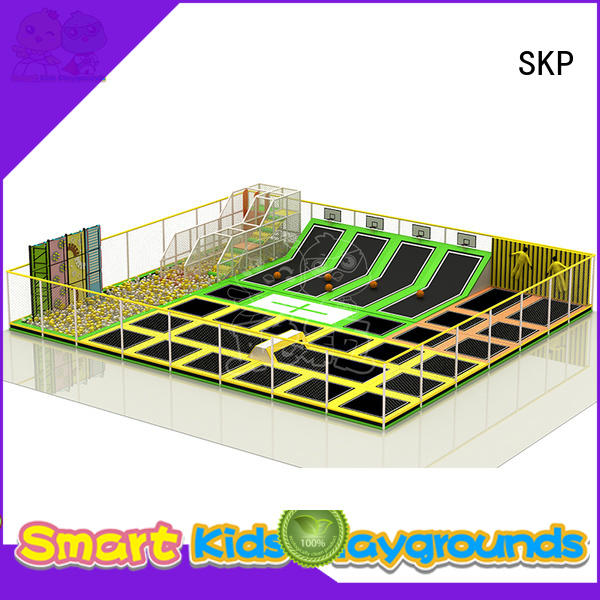 SKP equipment trampoline park supplier for Kindergarten