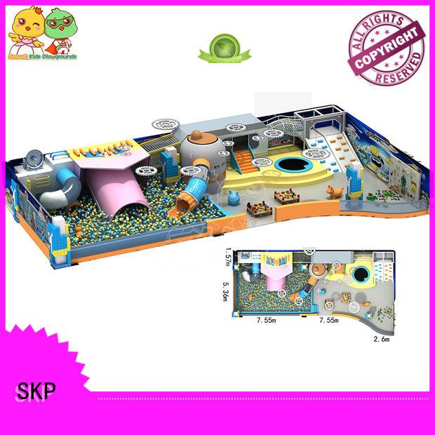 SKP Customized maze equipment Slide for plaza