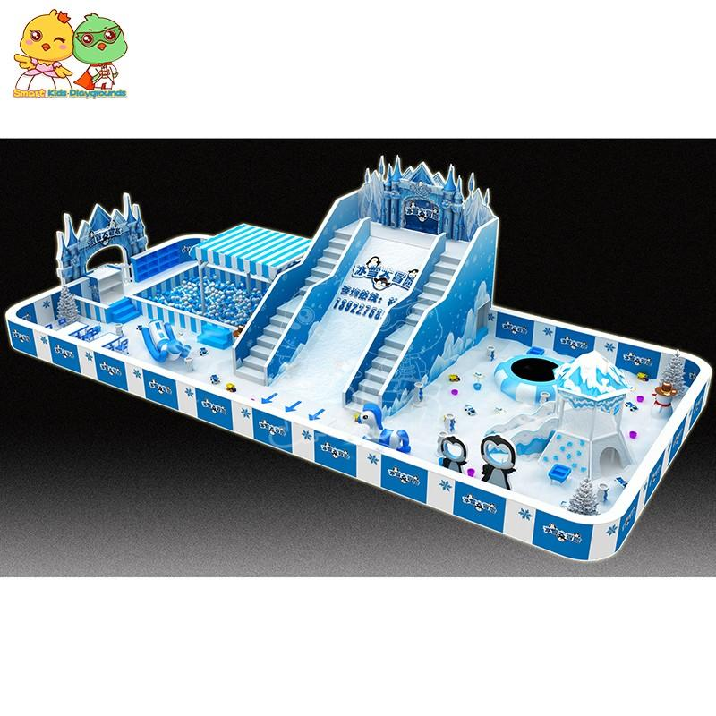 SKP best price commercial playground equipment promotion for Kids care center-2