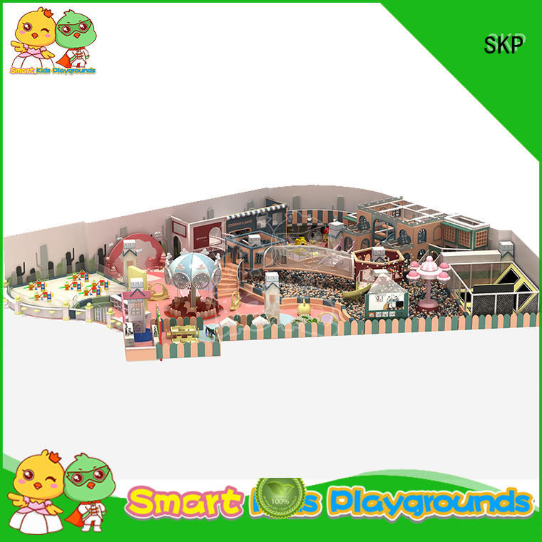 SKP best candy theme playground wholesale for indoor
