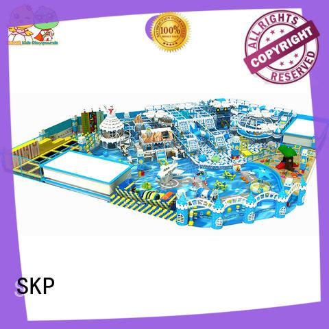 SKP snow theme playground promotion for preschool