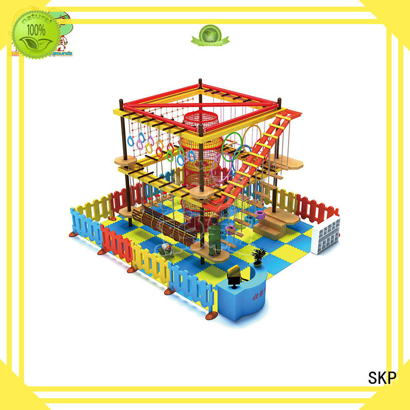 security rope play equipment playground for challenge for indoor