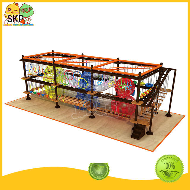 SKP security rope play equipment supplier for indoor