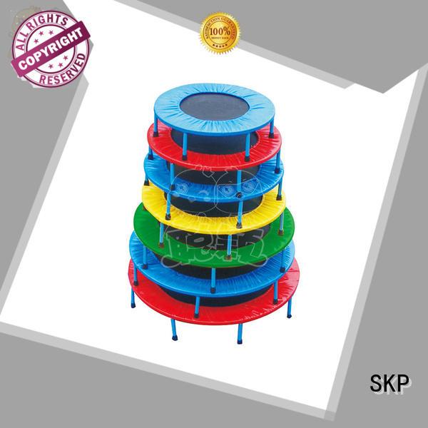 SKP security trampoline park equipment on sale for school